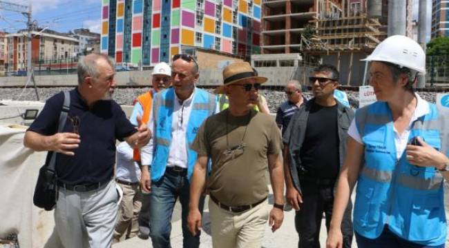 Kartal'da Marmaray Projesi İncelemesi