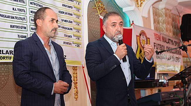 Malatyalı İş Adamı Mehmet Olcay'a Teşekkür
