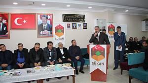 Bakan Tüfenkci Malatyalı Aday Dursun'a Sahip Çıktı