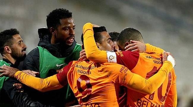 Galatasaray Sivas'dan Altın 3 Puanı Kaptı