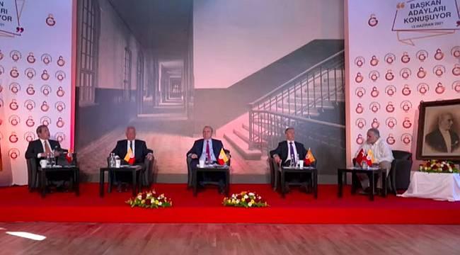 Galatasaray Başkan Adayları Canlı Yayında Buluştu